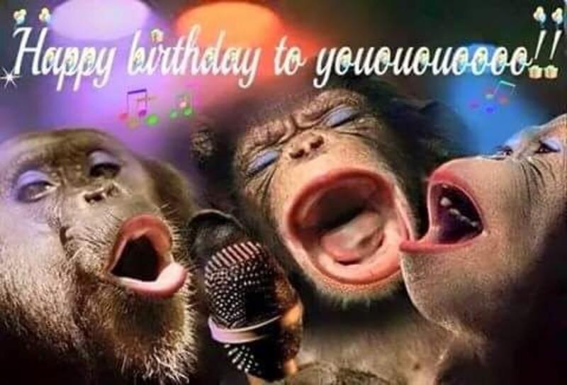 Happy Birthday to yoooooooooouuuuuu