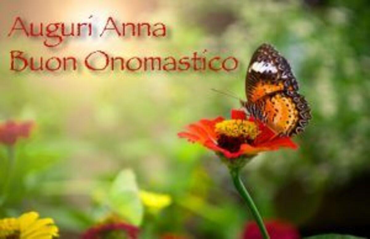 Auguri Anna Buon Onomastico