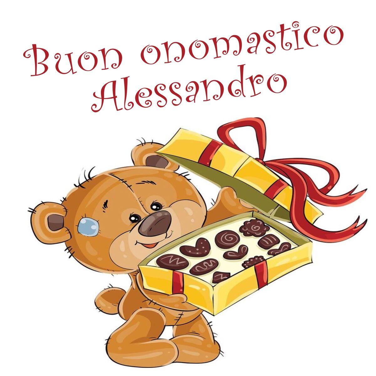Buon Onomastico Alessandro