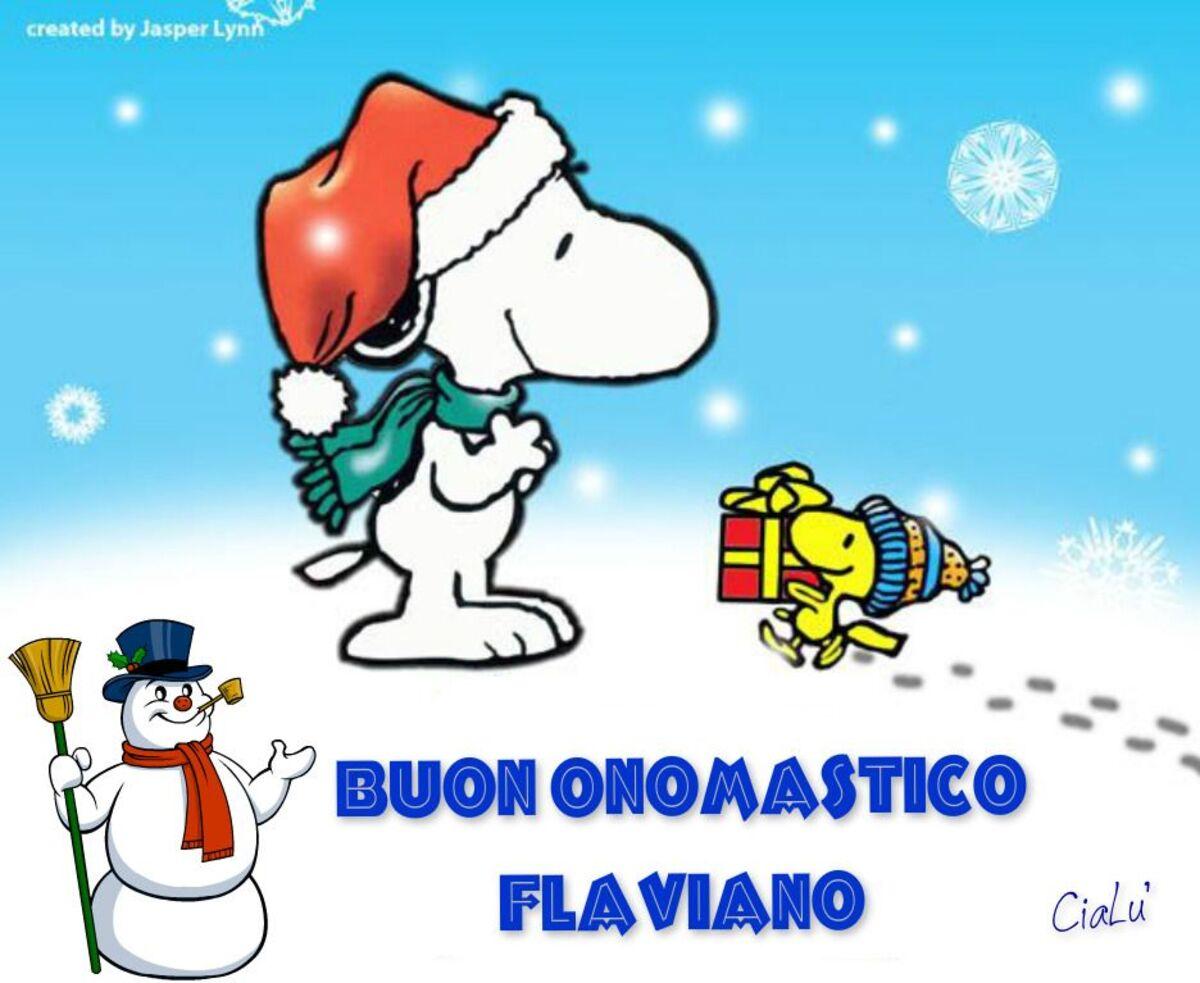 Buon Onomastico Flaviano