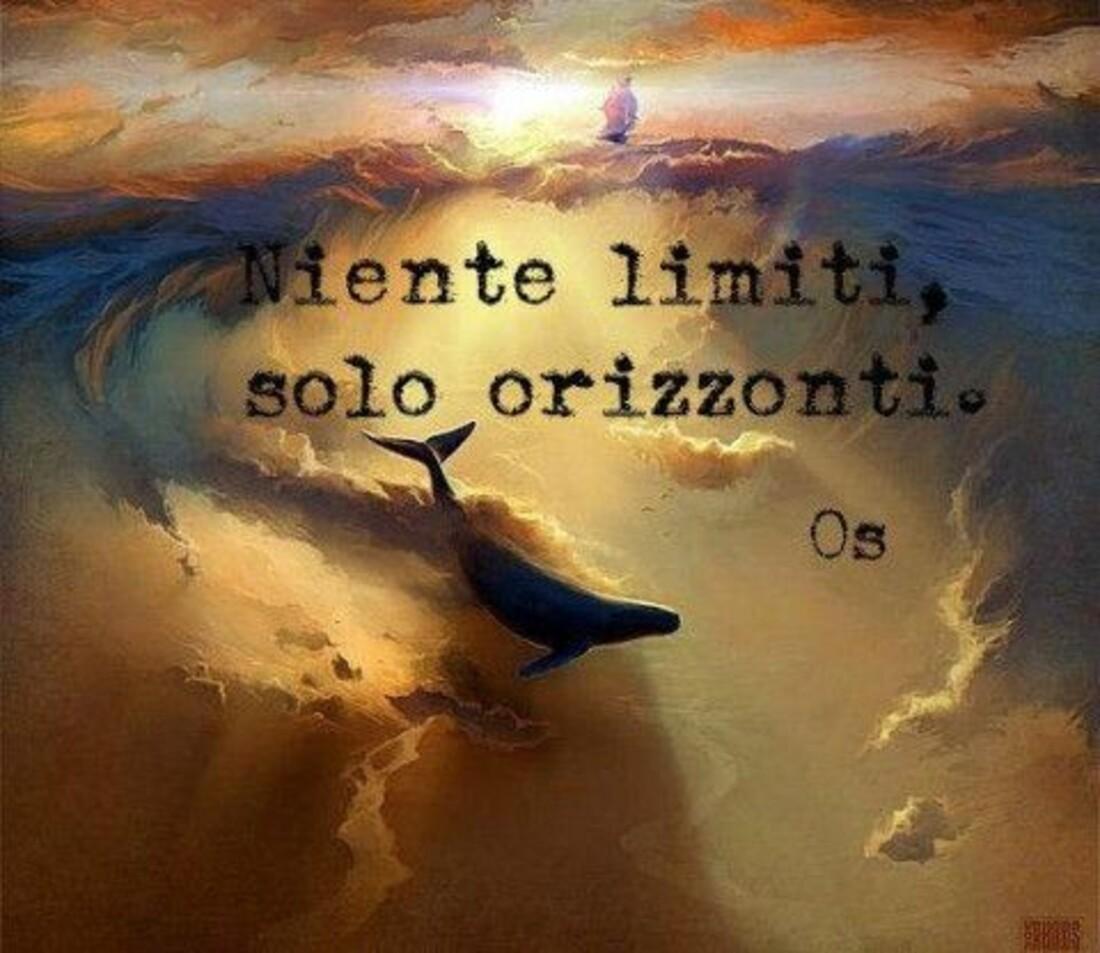 Niente limiti, solo orizzonti