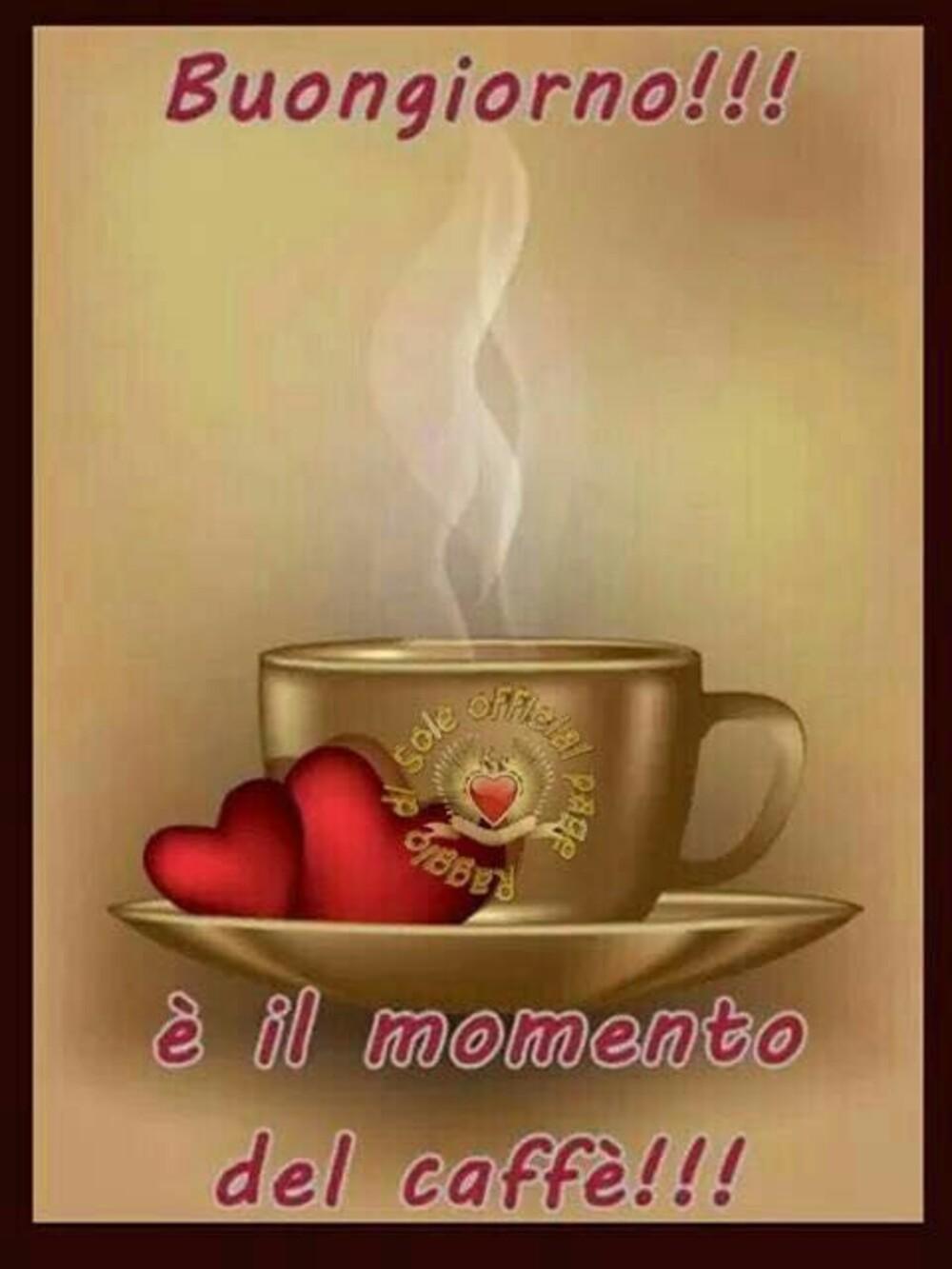 Buongiorno è il momento del caffè!!!