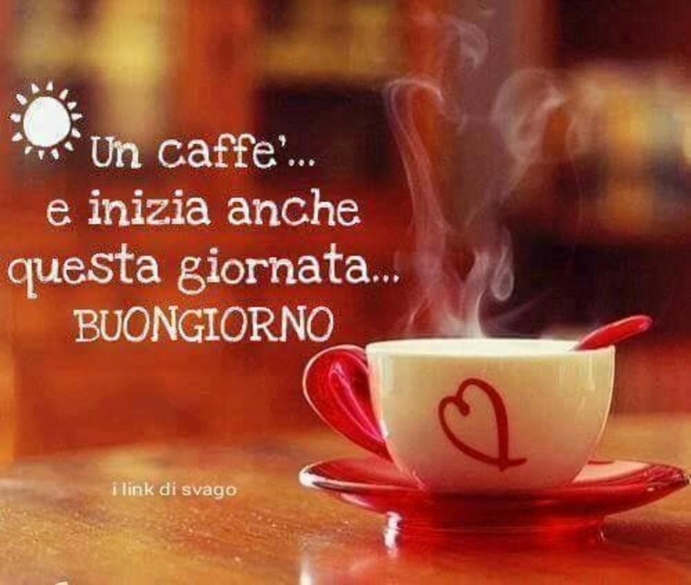 Un caffè e inizia anche questa giornata...Buongiorno