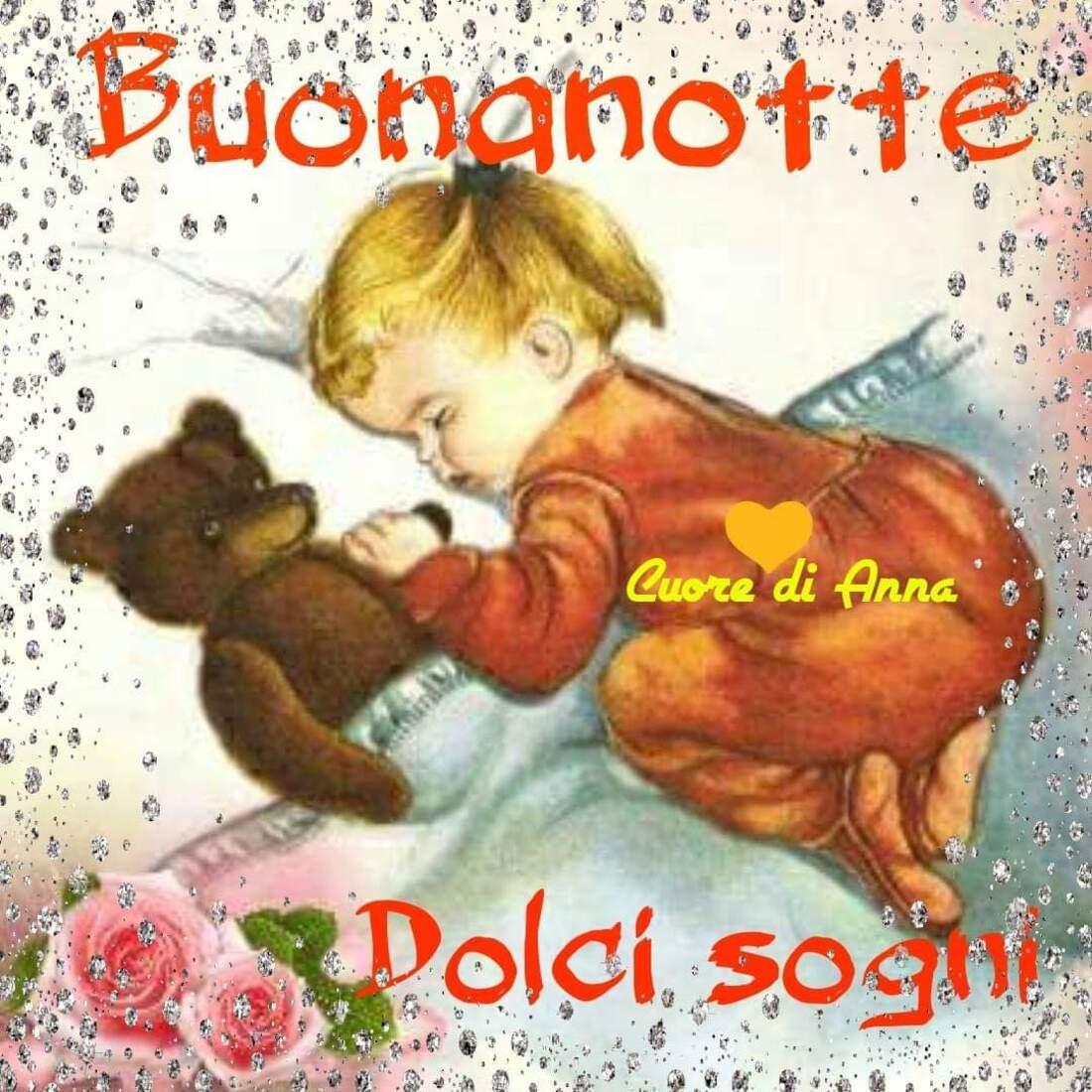 Buonanotte dolci sogni