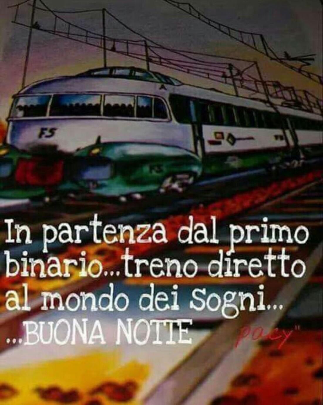 In partenza dal primo binario...treno diretto al mondo dei sogni...Buona Notte