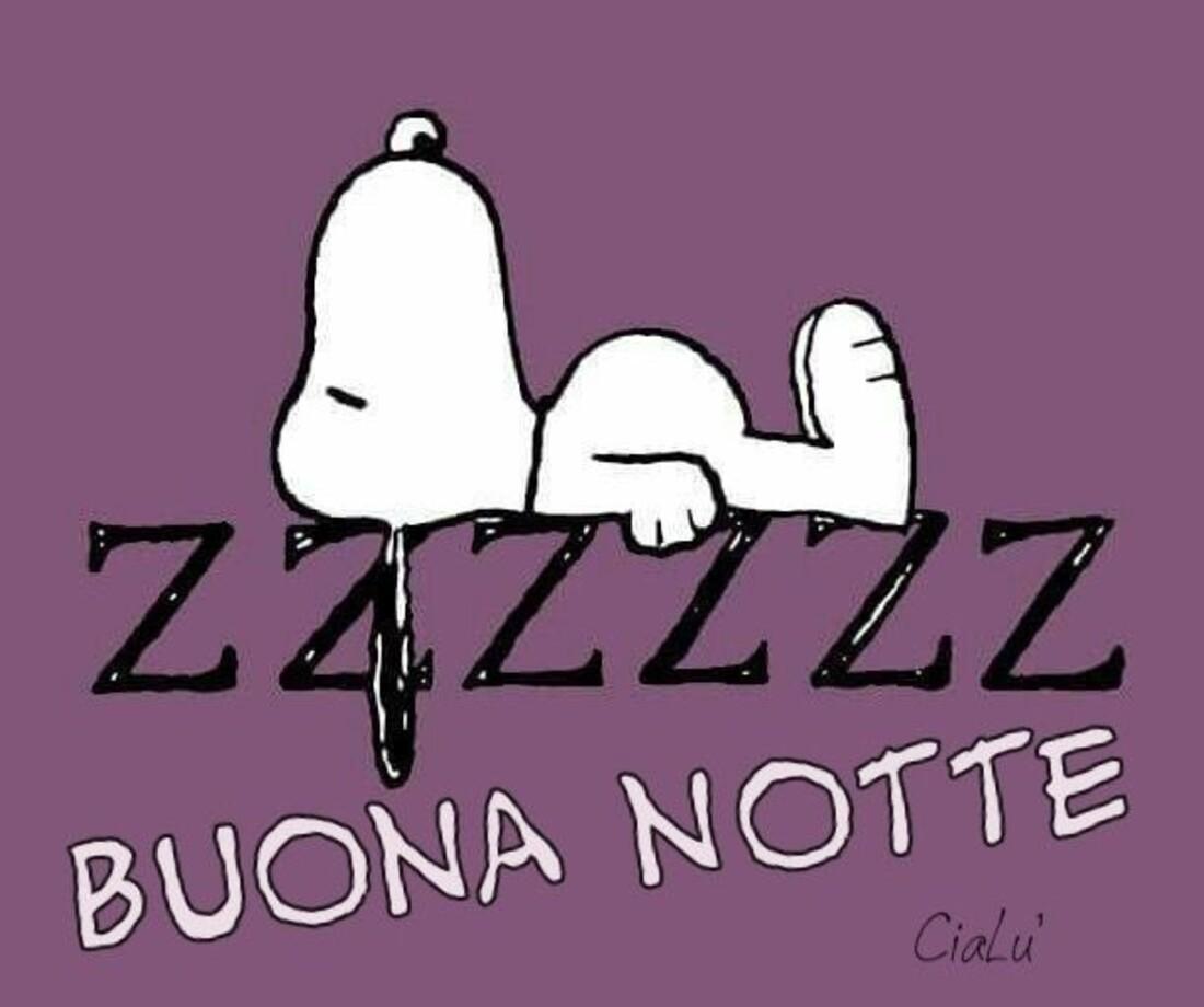 Zzzz Buona Notte