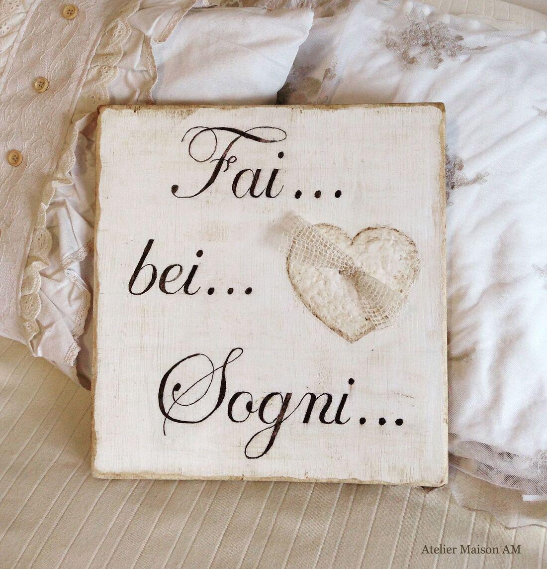 Fai... bei... sogni...