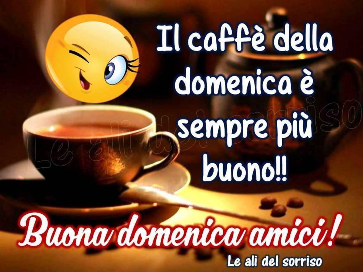 Il caffè della domenica è sempre più buono!! Buona Domenica amici!