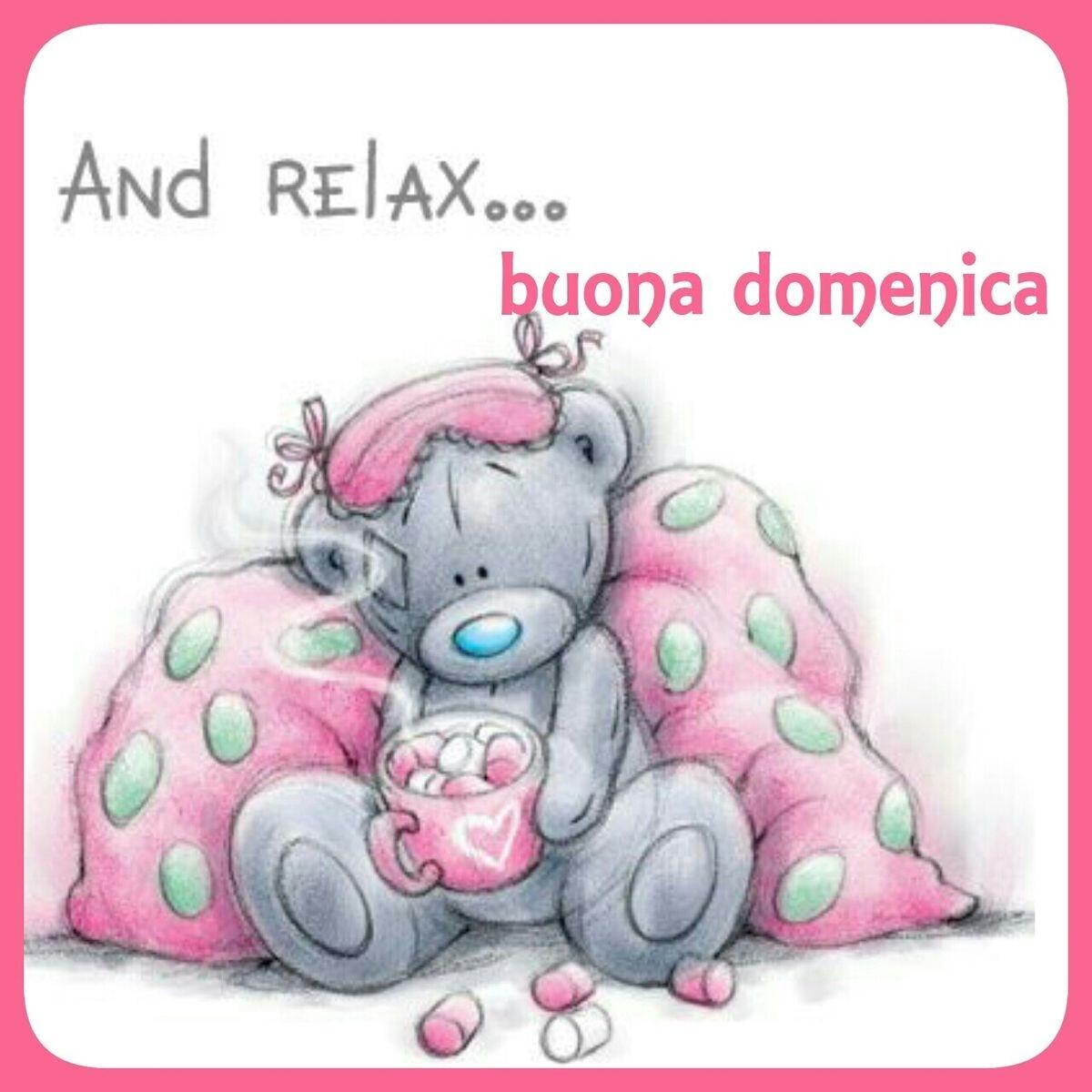 And relax...Buona domenica