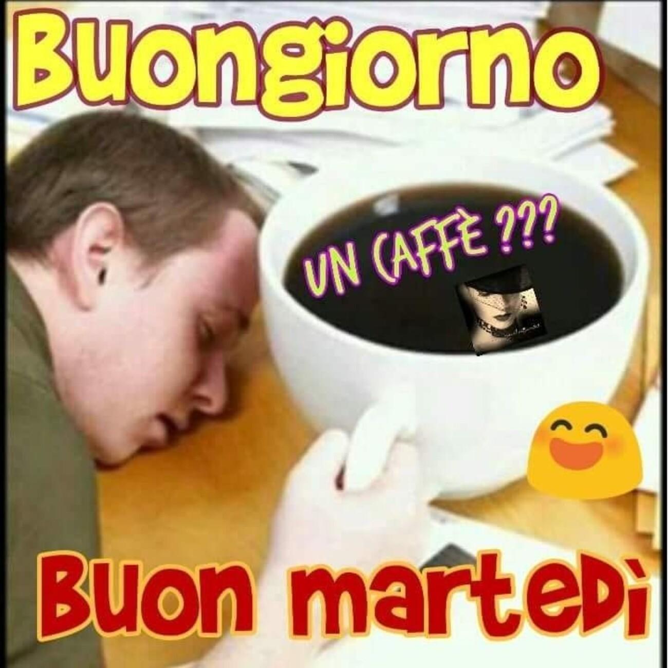 Buongiorno un caffè??? Buon Martedì