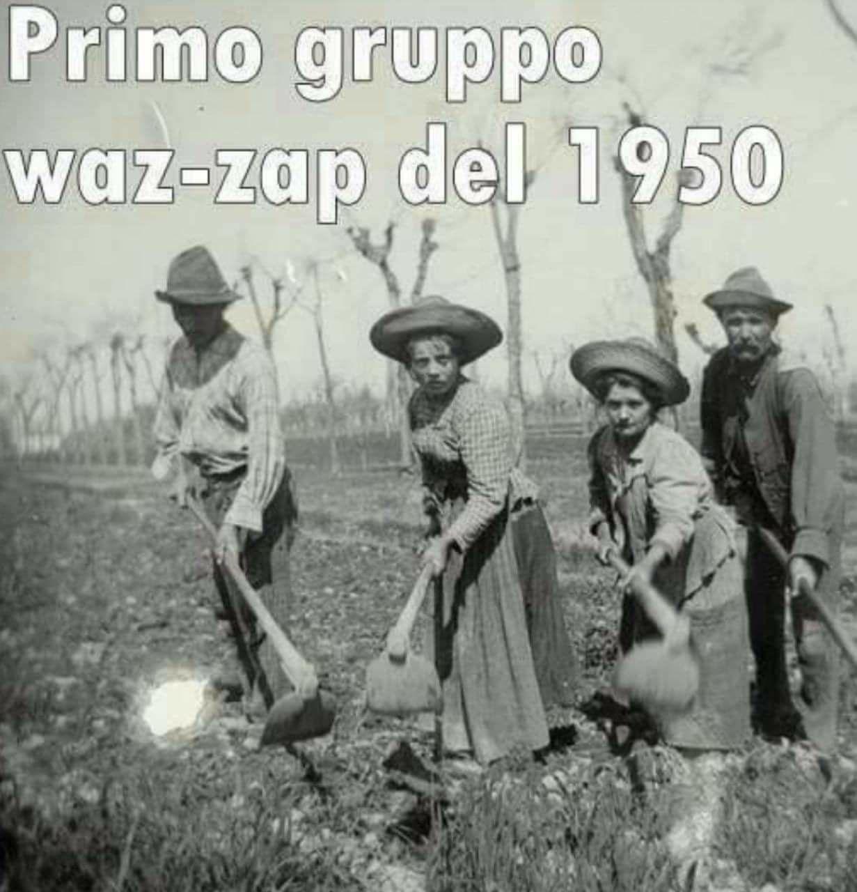 Primo Gruppo Waz-zap del 1950
