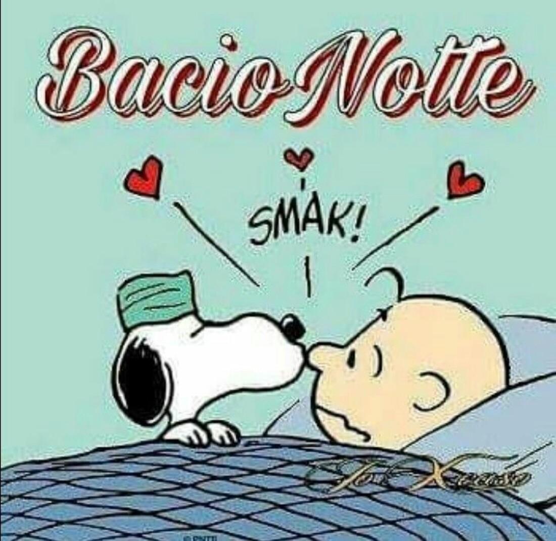 BacioNotte SMACK! - Vignette con Snoopy e Charlie Brown