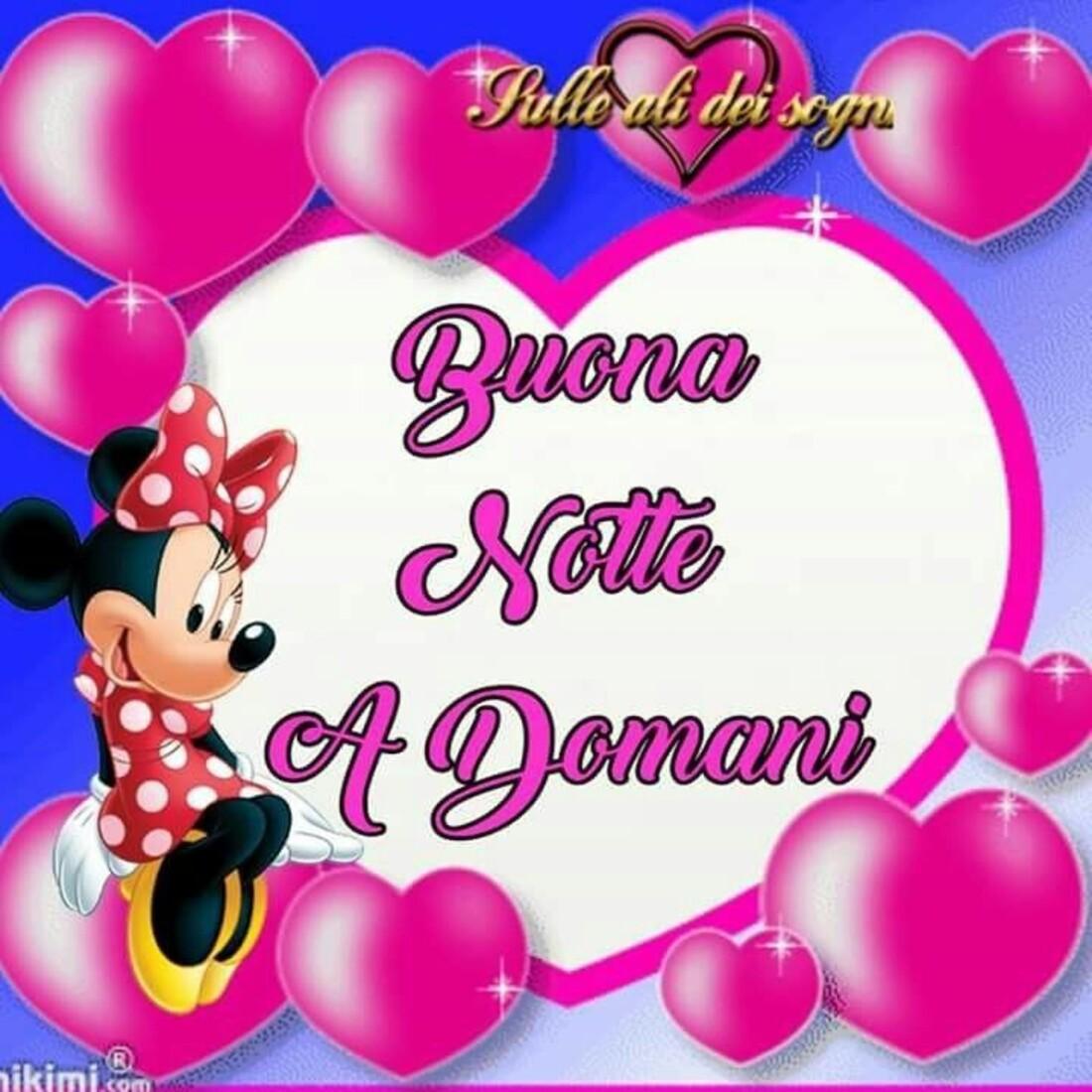 """Minnie - """"Buona Notte, a Domani!"""""""
