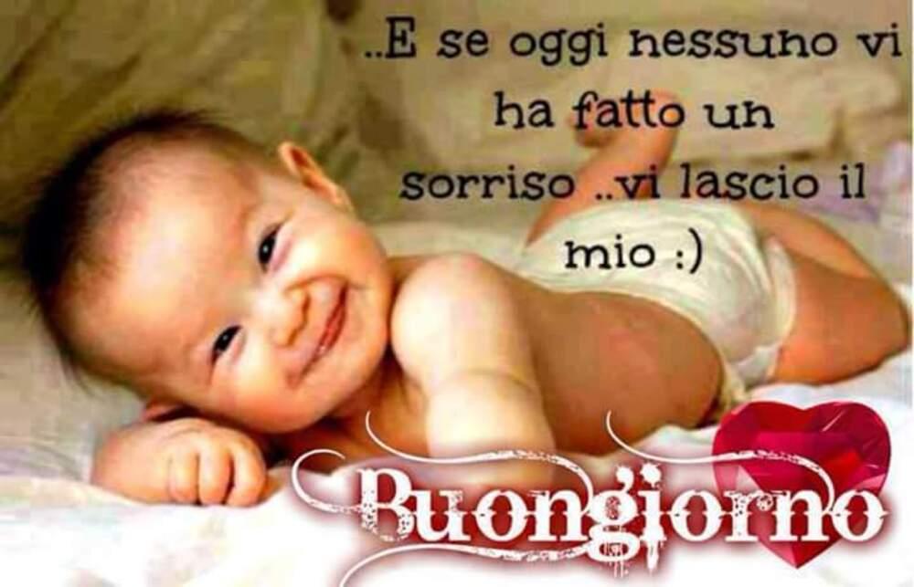 ... e se oggi nessuno vi ha fatto un sorriso... vi lascio il mio... :) Buongiorno