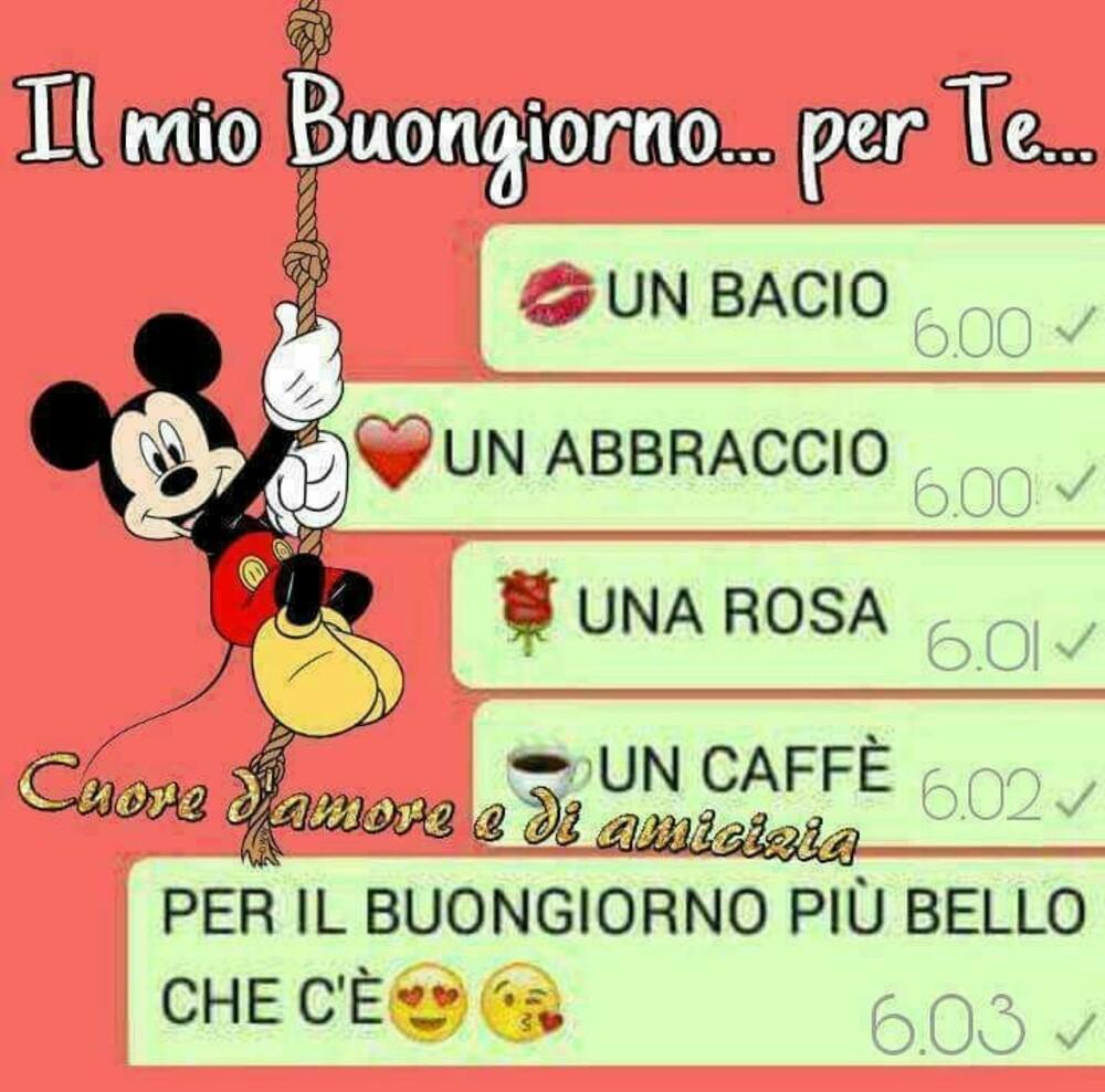 """""""Il mio Buongiorno per te..."""" - link per WhatsApp"""