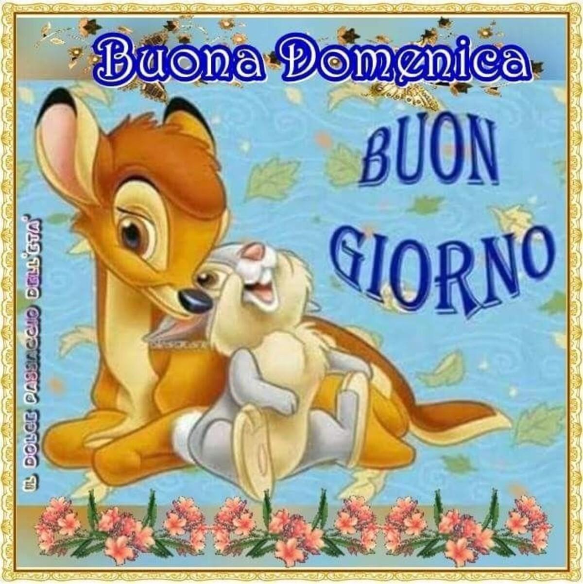"""""""Buona Domenica Buon Giorno"""" - Bambi"""