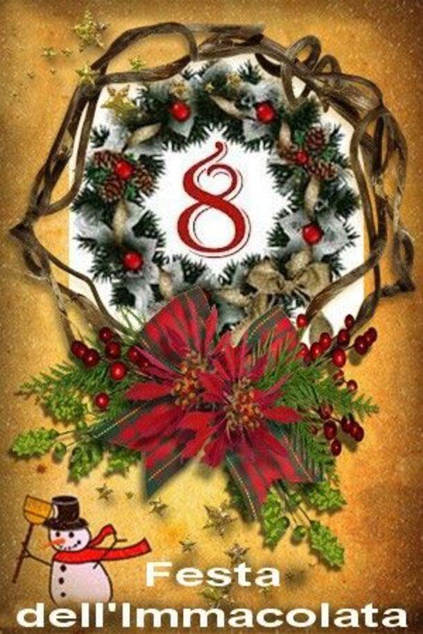 8 Dicembre Festa dell'Immacolata