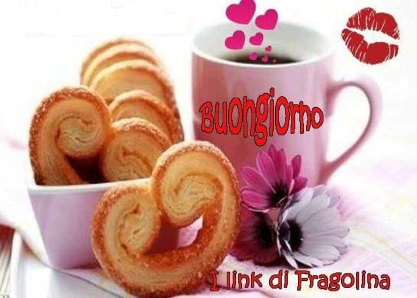 Buongiorno, oggi caffè e biscotti a letto!